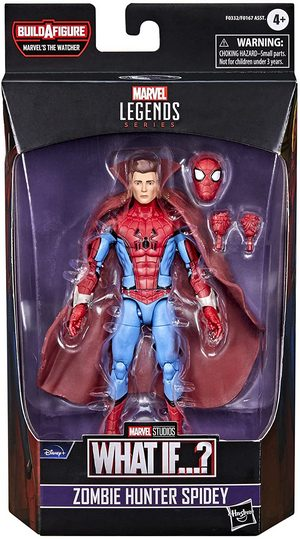 Product Image - Marvel Legends Series - What If? - Zombie Hunter Spidey 6 Inch Action Figure - BAF