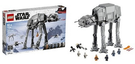 Product image - LEGO Star Wars at-at 75288 Building Kit (1267 Pieces)