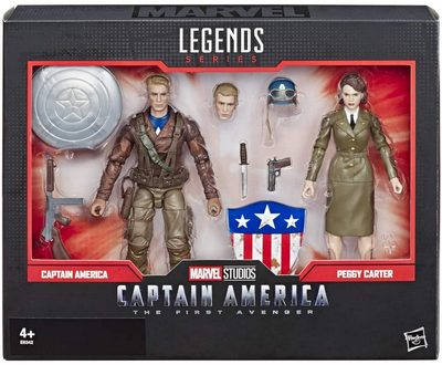 Marvel Legends Captain America and Peggy 2-pack