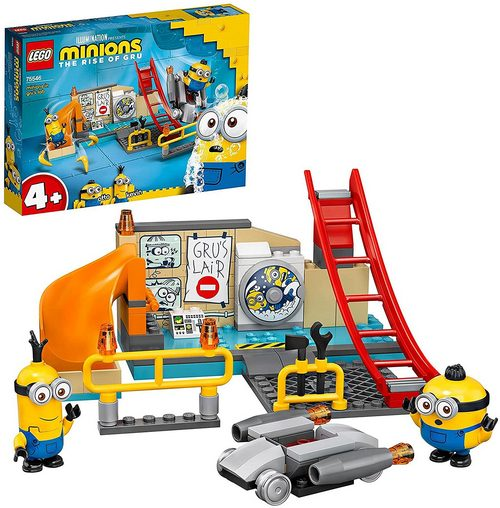 Product image - The Rise of Gru - LEGO Set - Gru's Lab 75546 (87 Pieces)