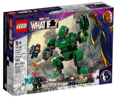 Product image - LEGO Marvel What If? Captain Carter and The Hydra Stomper 76201