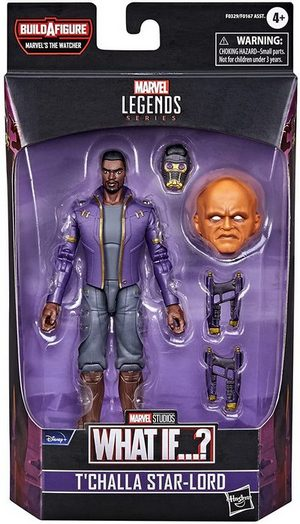 Product image - Marvel Legends Series - What If? - T' Challa Star-Lord 6 inch Action Figure -BAF