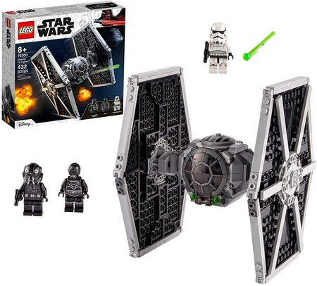 Product image - Star Wars Imperial TIE Fighter 75300 (432 Pieces)