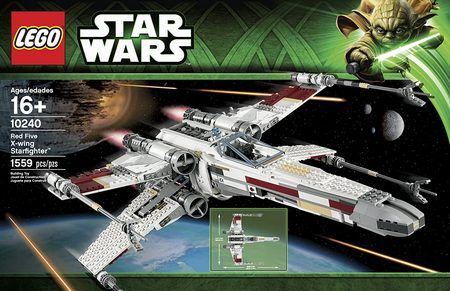 Product image - LEGO Star Wars Red Five X-Wing Starfighter Building Set 10240 (1559 Pieces)