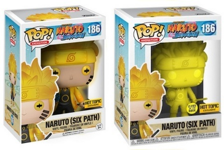 Product image - 186 Naruto (Six Path) - Hot Topic and Yellow GITD - Hot Topic Exclusives