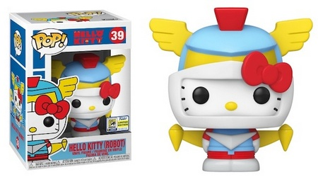 Product image - Funko Pop Hello Kitty (Robot) 39 - 2020 SDCC Exclusive