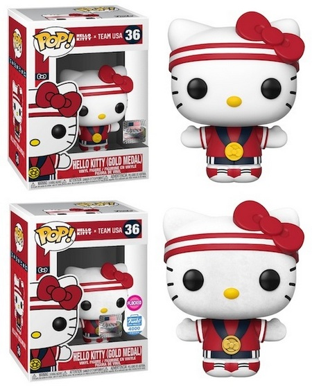 Product image - Hello Kitty x Team USA Gold Medal 36 - Hello Kitty (Gold Medal) Flocked 36 - FunkoShop (PR=4,000 pieces)