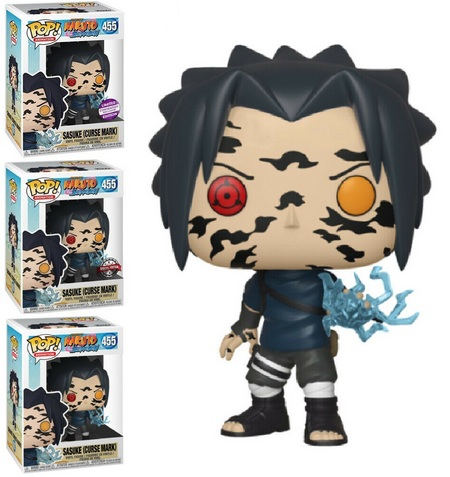 Product image - Sasuke 455 Curse Mark Vinyl Figure Convention Exclusive, Special Edition, and Common Figure