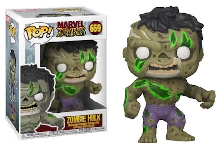 Product image - Funko Pop Zombie Hulk 659 - Best Funko Pop Marvel Zombies - Checklist and Buyers Guide
