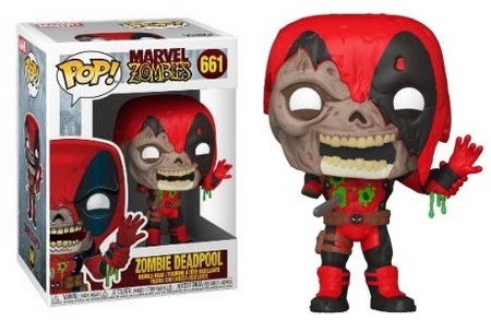 Product image - Zombie Deadpool 661 - Best Funko Pop Marvel Zombies - Checklist and Buyers Guide