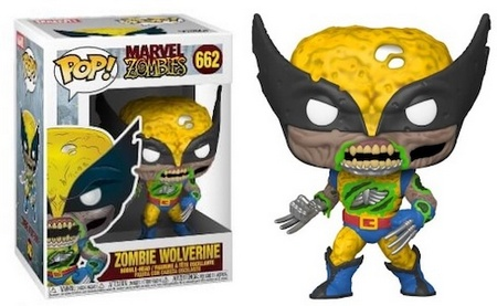 Product image - 662 Zombie Wolverine and 662 Zombie Wolverine GITD Entertainment Earth Exclusive