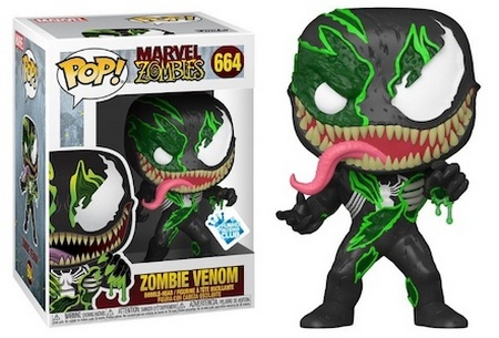 Product image - Marvel Zombie Venom 664 - GameStop - Best Funko Pop Marvel Zombies - Checklist and Buyers Guide