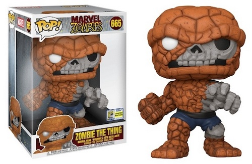 """Product image - 665 Zombie The Thing 10"""" - 2020 SDCC Exclusive"""