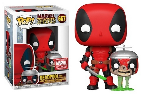 Product image - 667 Deadpool with Headpool - MCC Exclusive