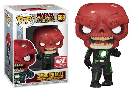 Product image - Zombie Red Skull 668 - MCC Exclusive