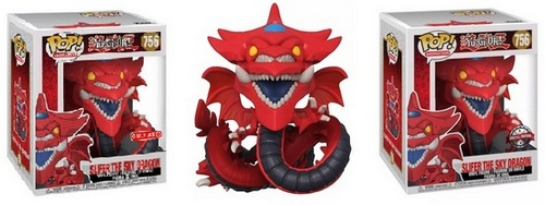 """Product images - 756 Slifer the Sky Dragon 6"""" Super-Sized - Target Exclusive and Special Edition Pops"""
