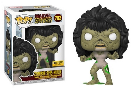 Product image - 792 Zombie She-Hulk - Hot Topic Exclusive