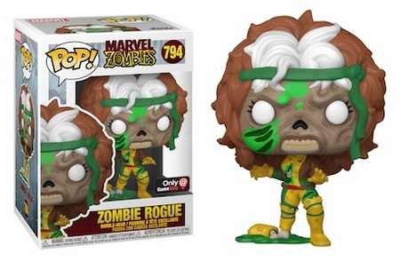 Product image - 794 Zombie Rogue - GameStop Exclusive - Best Funko Pop Marvel Zombies - Checklist and Buyers Guide