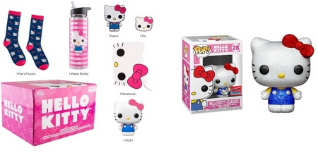 Product Image - Hello Kitty (Classic) 28 - Amazon Collectors Box and Diamond Collection - 2020 New York City Comic Con Backpack Bundle