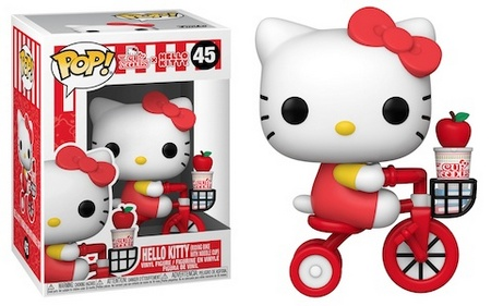 Product image - Hello Kitty 45 (Riding Bike with Noodle Cup)