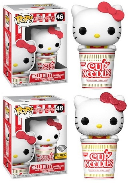Product image - Hello Kitty 46 (In Noodle Cup) and Hello Kitty 46 (In Noodle Cup) Diamond - Hot Topic Exclusive