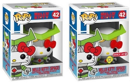 Product image - Funko Pop Hello Kitty (Space) 42 - Hello Kitty (Space) 42 GITD - Target Exclusive