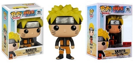 Product image - Naruto Shippuden Naruto 71 and Hot Topic Pre-Release Exclusive