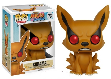 Product image - Kurama 73 6-inch - Naruto Shippuden - Hot Topic Pre-Release - GameStop Flocked Exclusive and Common Figure