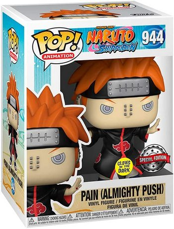 Product image - Naruto Shippuden - Pain with Shinra Tensei Glow - GITD Special Edition