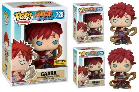 Product image - Naruto 728 Gaara and Gaara Metallic - Hot Topic Exclusive and Special Edition