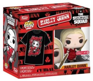 Product image - The Suicide Squad 1111 Harley (Damaged Dress) Diamond Collection - Target Exclusive T-Shirt Bundle
