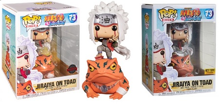 Product image - Rides 73 Jiraiya on Toad - Hot Topic and Special Edition - Naruto Funko Pop list
