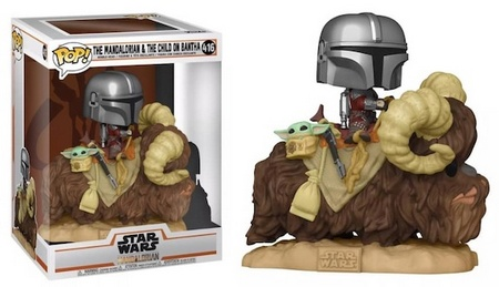 Product image - The Mandalorian and the Child on Bantha 416