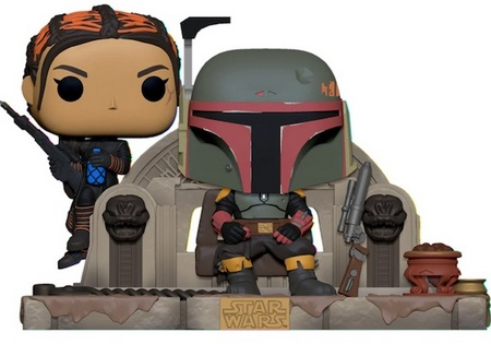 Product image - Boba and Fennec Shand Deluxe Funko Pop Vinyl - Star Wars - The Mandalorian