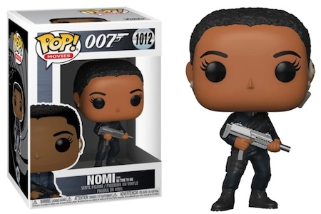 Product image - 1012 Nomi No Time to Die - James Bond No Time To Die Funko Pop Checklist, Buyers Guide AFG