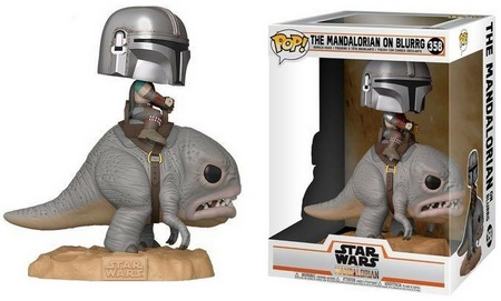 Product image - 358 The Mandalorian on Blurrg Deluxe