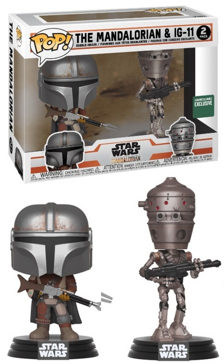 Product image - The Mandalorian and IG-11