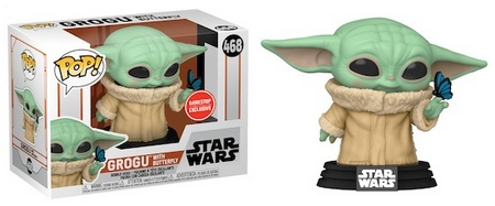 Product image - Grogu with Butterfly 468 - GameStop / EB Games Exclusive