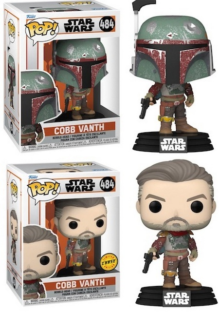 Product image - The Marshall Cobb Vanth 484 and Unmasked Chase Variant Funko Pop