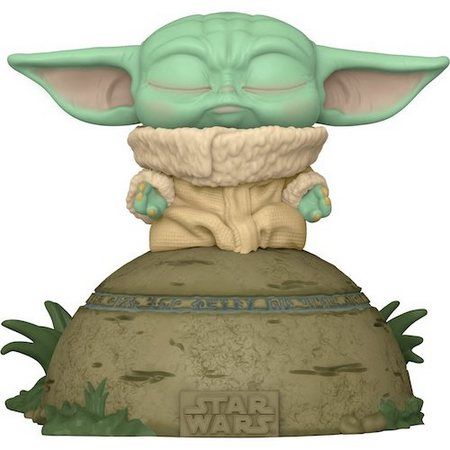 Product image - Grogu Seeing Stone (Lights and Sound) Pop Vinyl