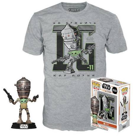 Product image - IG-11 with Child 427 - GameStop T-Shirt Exclusive Bundle