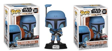 Product image - 361 Death Watch Mandalorian (No Stripes) - GameStop Exclusive and Special Edition