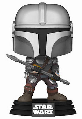 Product image - The Mandalorian with Spear - FunkoShop Exclusive